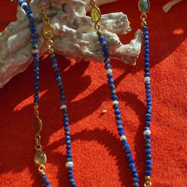 a cool necklace....now the new way how to carry jewelry 90 cm length