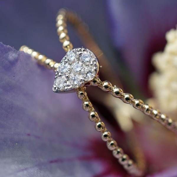 Brillant Ring 750er Gelbgold